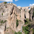 Bridge of Ronda, Malaga (Spain) — Stock Photo
