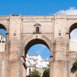 Bridge of Ronda, Malaga (Spain) - Stock Photo