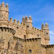 Castillo de Guadamur, Toledo (España) — Stock Photo