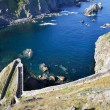 Stock Photo: Path to SJuof Gaztelugatxe, Biscay (Spain)