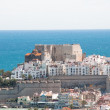 Panoramic view of Peñiscola, Spain — Stock Photo #9023563