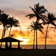 Sunrise at Kauai, Hawaii - Stock Photo