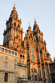Cathedral of Santiago de Compostela (Spain) — Stock Photo