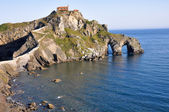 San Juan of Gaztelugatxe, Biscay (Spain) — Stock Photo