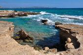 Mediterranean coast, Ibiza (Spain) — Stock Photo