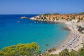 Cala D'Hort beach, Ibiza (Spain) — Stock Photo