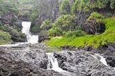 Yedi kutsal havuzları, maui — Stok fotoğraf