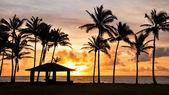 Sunrise at Kauai, Hawaii — Stock Photo