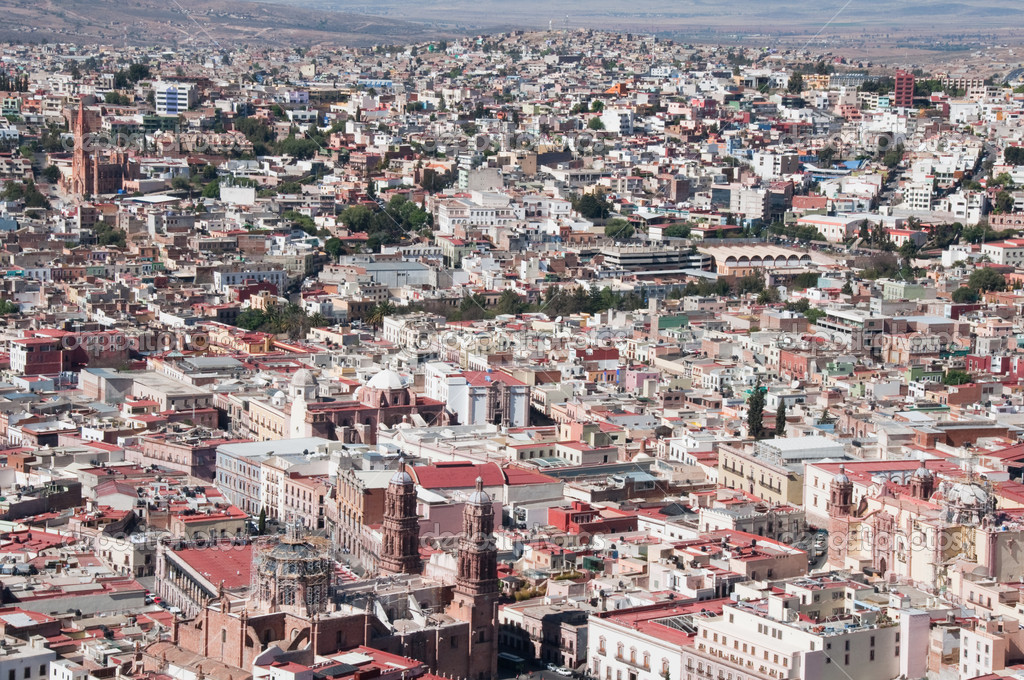 Zacatecas, colorful town in Mexico — Stock Photo #9999318
