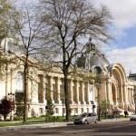 Facades of Paris. Famous Grand Palais (Big Palace) — Stock Photo
