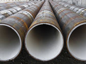 Pipes rusted — Stock Photo