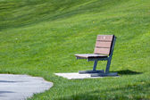 Alone bench — Stock Photo