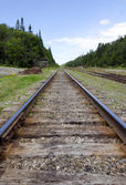 Railway tracks — Foto de Stock