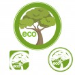 Eco sing — Stock Vector #10251074