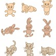 Animals — Vector de stock #8645745