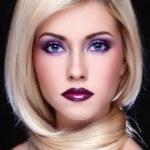 Постер, плакат: Violet makeup