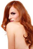 Sexy redhead — Stock Photo
