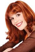 Smiling redhead — Stock Photo
