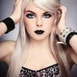 Gothic princess - Stock fotografie