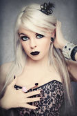 Gothic princess — Foto Stock