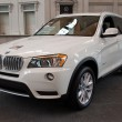 Stock Photo: 2012 BMW X3 SUV