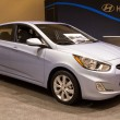 2012 Hyundai Accent SE — Stock Photo #10703135