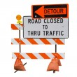 Road Closed — Stock Photo #10725059
