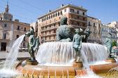 Turia Fountain — Stock Photo