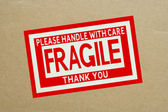 Fragile — Stock Photo