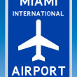 Miami Airport — Stock Photo