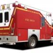 Ambulance Fire Rescue Truck — Stock Photo
