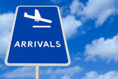 Arrivals — Stock Photo