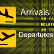 Stock Photo: Arrivals Departures