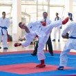 Karate Competition — Stock Photo