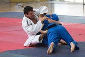 Judo EUROPOLYB — Stock Photo
