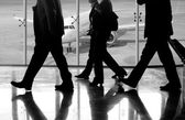 Business at the Airport — Stock Photo