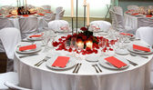 Reception Tables — Stock Photo