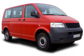 Red Van — Stock Photo