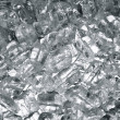 Close Up of Ice Background - Foto de Stock