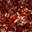 Close Up Blood Stained Red Ice - Foto de Stock