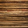 Old Weathered Stacked Vinyl LP Covers — Stock Photo #8656247
