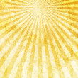 Stock Photo: Gold Light Rays Background
