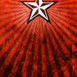 Stock Photo: PropagandStar Red Light Rays Background