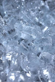 Extreme Close up of Ice Cubes — Stock Photo
