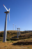 Wind Turbine Farm — Stockfoto