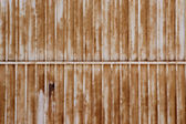 Rusted White Gate Background — Stock Photo