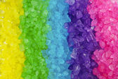 Multi colored Crystal Rock Rainbow Background — Stock Photo