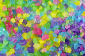 Multicolored Crystal Rock Background — Stock Photo