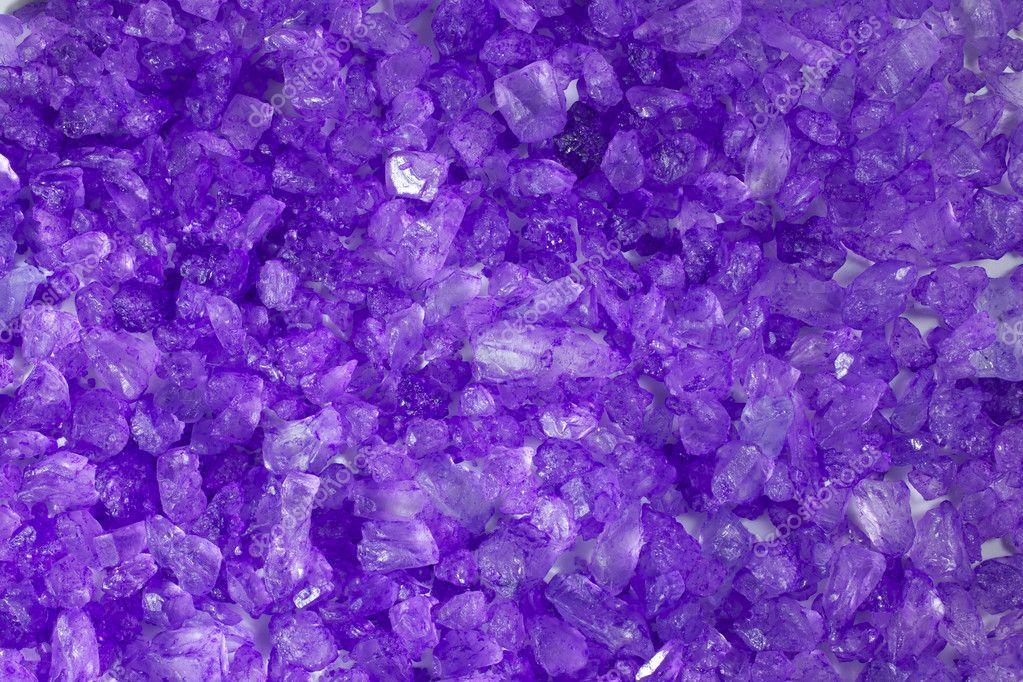 Crystal Rock Purple