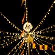Stock Photo: Lights festivities of Spain